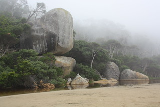 Whale Rock, Tidal River, Wilsons Prom | by 0o_o0