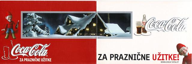 Coca Cola Slovenia Ad Postcard