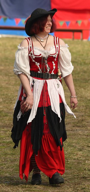One of the Rouges and Wenches out for a stroll looking for sailors to roll