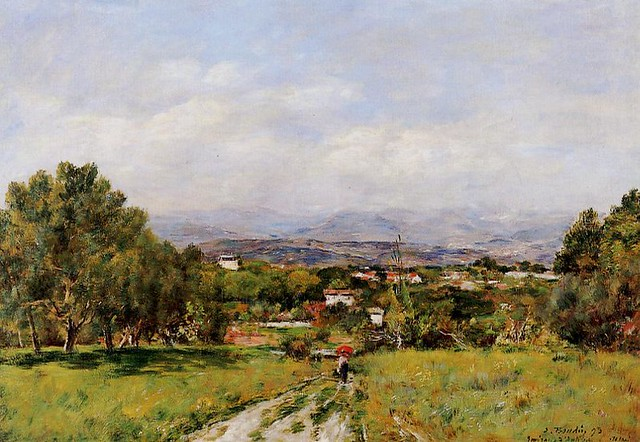 Eugène-Louis Boudin - 1893 Near Antibes 1 - pc