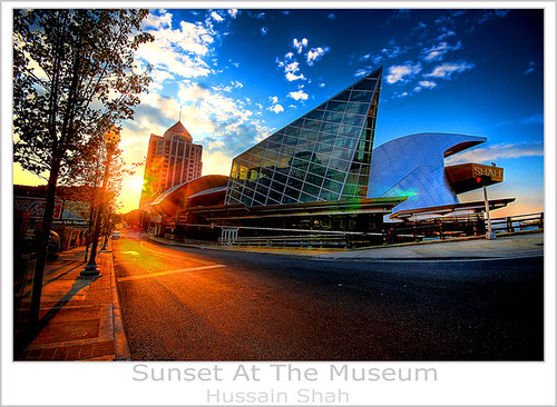 sunset usa museum d50 virginia nikon sigma roanoke 1020mm hdr shah hussain 3exp taubmanmuseumofart