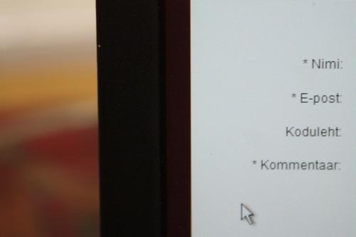 Close-Up of Laptop Screen