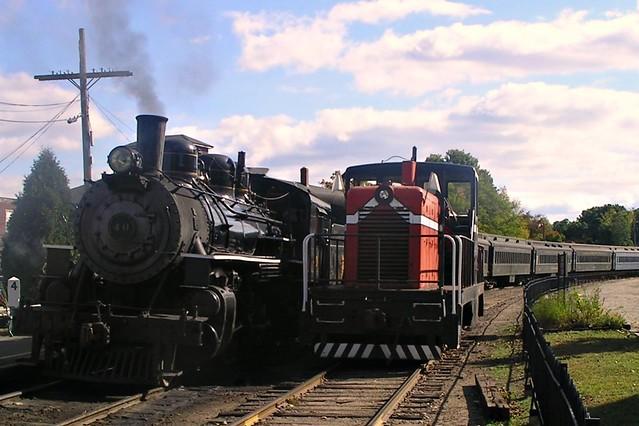 Essex Steam Train (Connecticut, USA)
