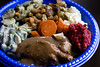 """it's hard to be angsty at """"angstgiving"""" when you've got a plateful of this by mintyfreshflavor"""