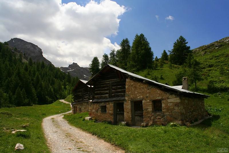 Chalets d'alpage à Clapeyto