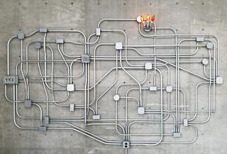 Power Maze With Sconce, by Roman de Salvo | by jenfoolery