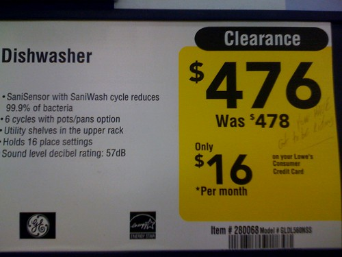 Lowe's Clearance #FAIL - And no I didn't write that | by wantmoore