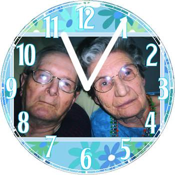 Parents Love Clock | by customclockface