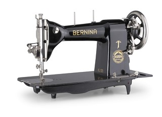 Vintage images of Bernina manufacturing and advertising | by Bernina International AG