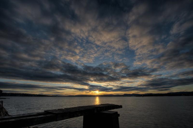 Sunset from Gressholmen