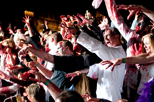 Zombie crowd! | by Björn Söderqvist