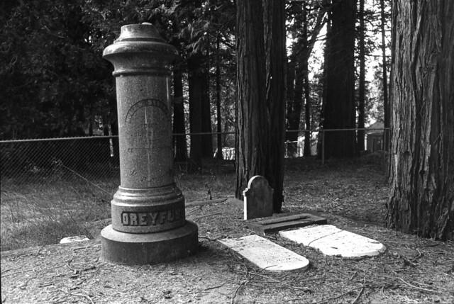 Nevada City, California Gold Rush Cemeteries: Ira Nowinski photographs, 1983-1984