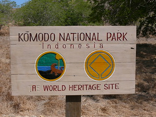 Komodo National Park sign | by East Asia & Pacific on the rise - Blog