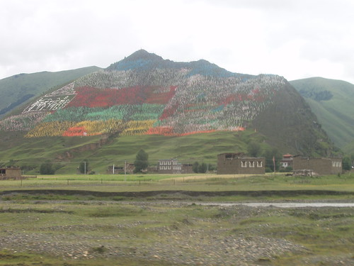 prayer flags on the mountain   by Jan-Christian Teller