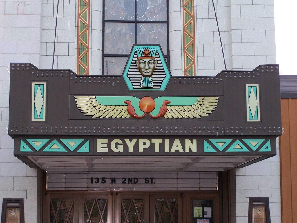 The Egyptian Theatre, DeKalb, Illinois, | Location: DeKalb ...