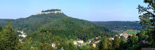 Festung und Städtchen Königstein