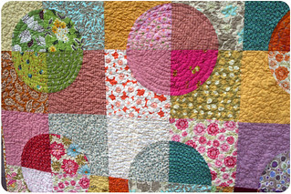 Roundabout Quilt Closeup | by amy drucker