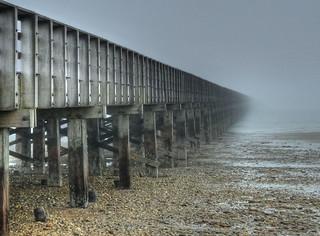 Low tide and fog - Powder Point Bridge | by joiseyshowaa