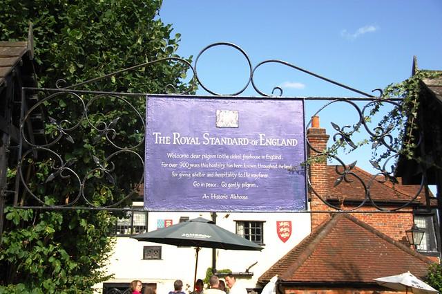 royal standard sign