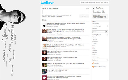 New Twitter Theme 09 | by encodedlogic