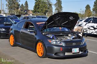 Scion Tc Turbo >> Turbo Scion Tc At Boti It Has Carbon Fiber Doors And Dolce