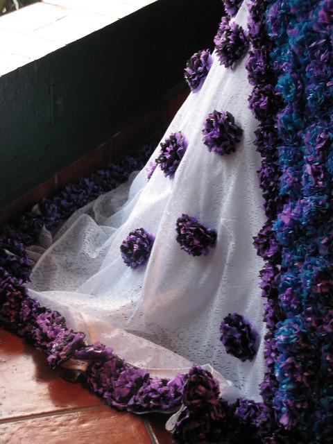 Catrina Detalles Del Vestido Hechas Con Papel Crepe Xels