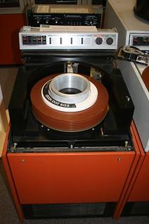 Mainframe hard disk unit @ Bletchley Park