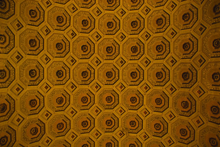ceiling patterns in the vatican | by dbtelford
