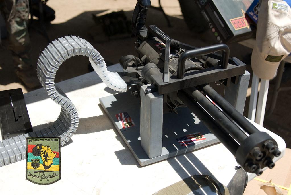 Echo 1 Minigun with new belt feeder | Pics by Andrew | Flickr