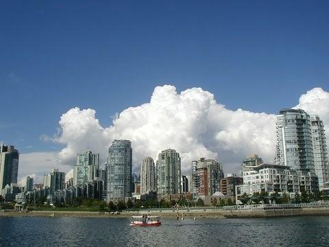 VANCOUVER, B.C.  SKYLINE.