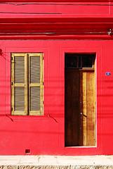 A rua suspensa, Casa Vermelha