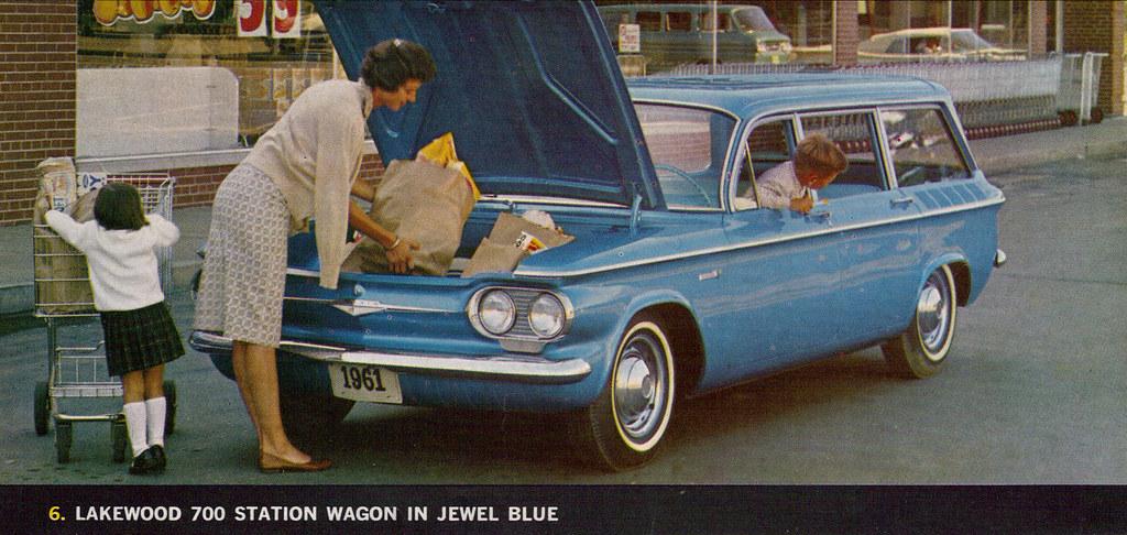 1961 Chevrolet Corvair Lakewood 700 Station Wagon Coconv