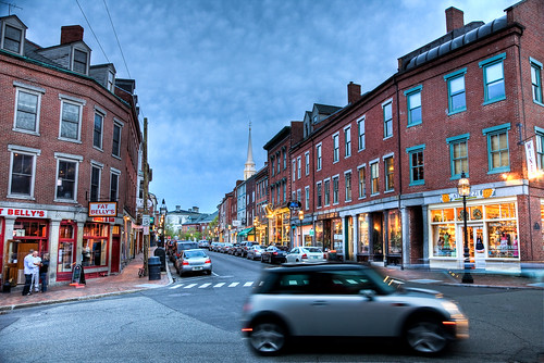 Market Street | Portsmouth, NH by Philip Case Cohen