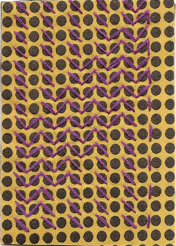 Yellow Polka Dot Pattern #2