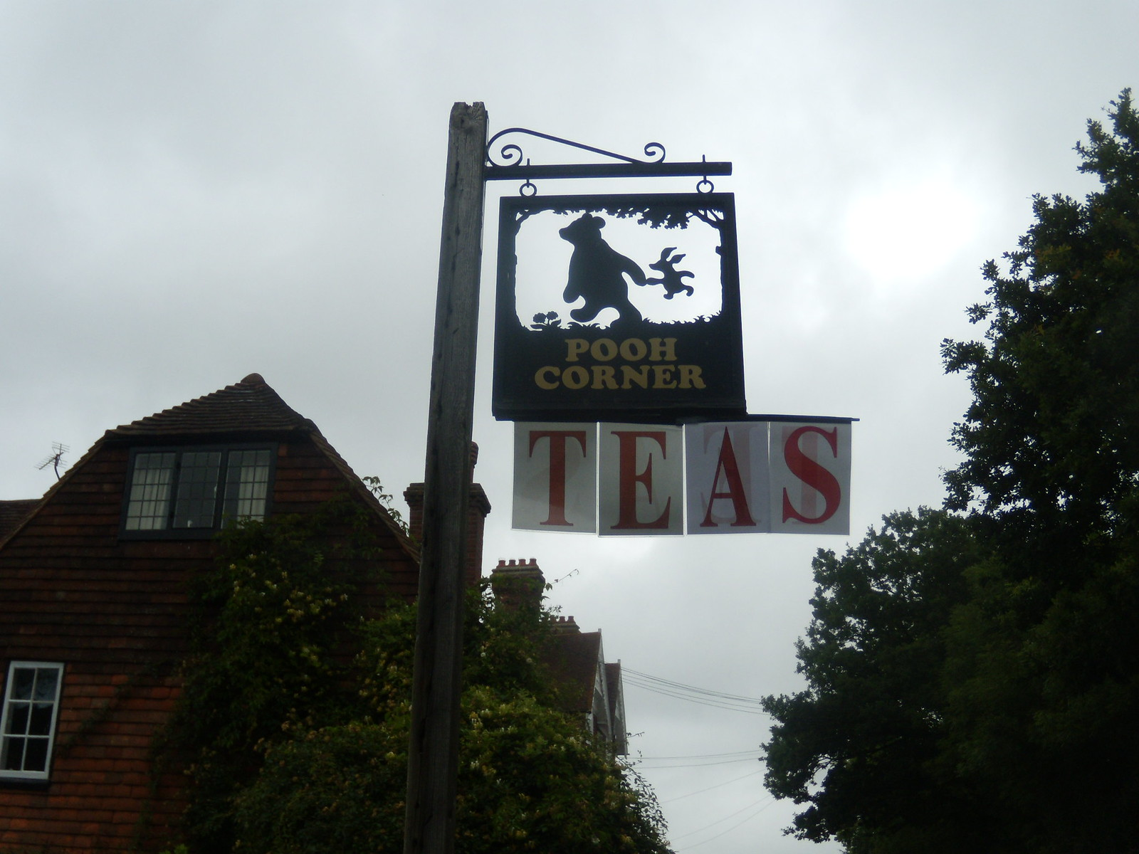Tea at Pooh Corner Ashurst to Hartfield