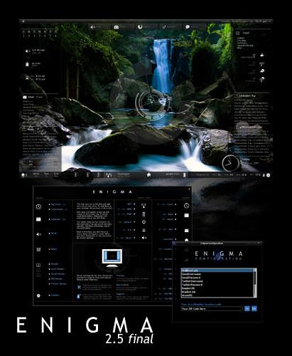 Rainmeter 1 0 & Enigma 2 5 (Preview) | Update: Enigma 2 5 is… | Flickr