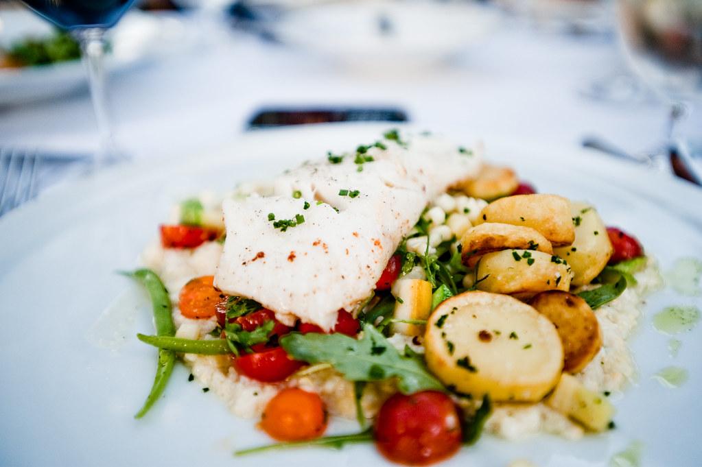 my dish..alaskan halibut | Chris Wan | Flickr Alaskan Halibut Dish