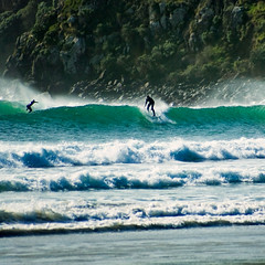 surfers   by borealnz