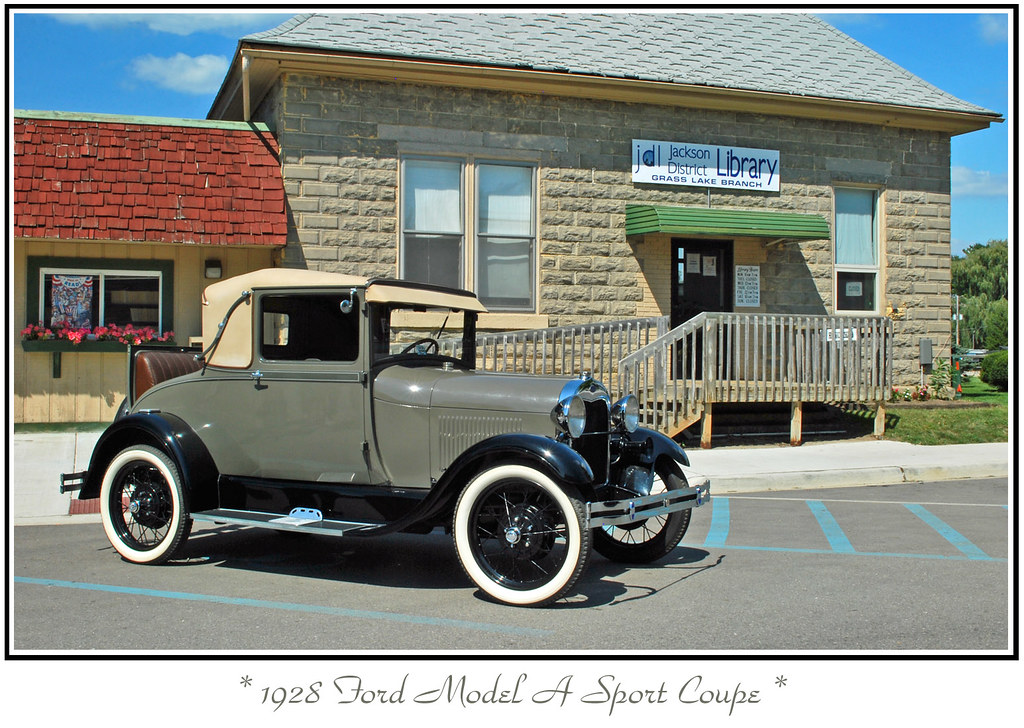 1928 Ford Model A Sport Coupe The September 5 2009
