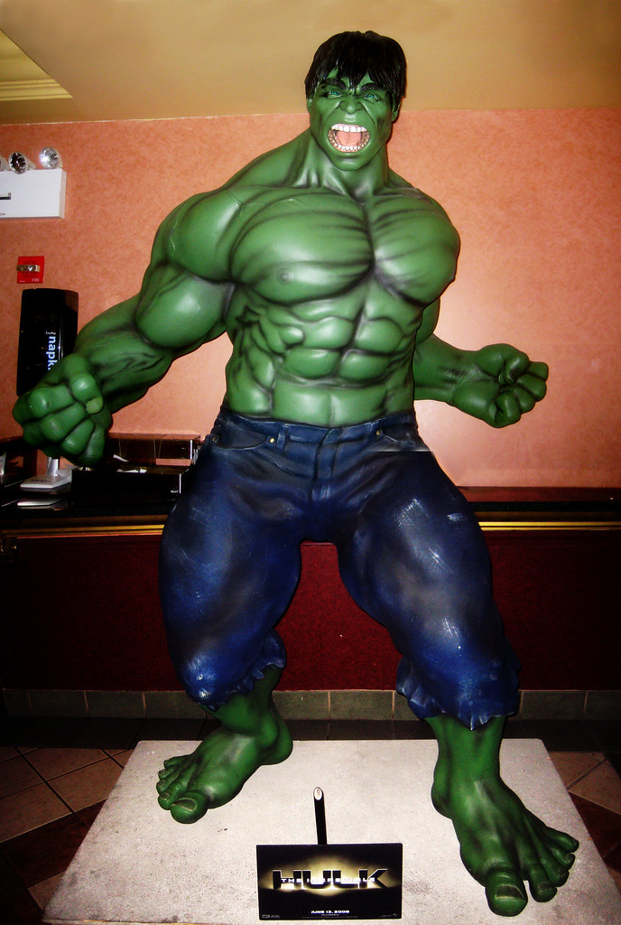 Angry Green Hulk Movie Lobby Figure 0157 | The Incredible Hu… | Flickr