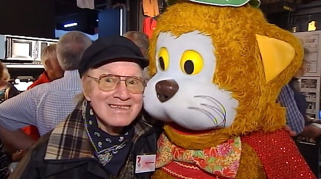 Reg Whiteman and Fat Cat