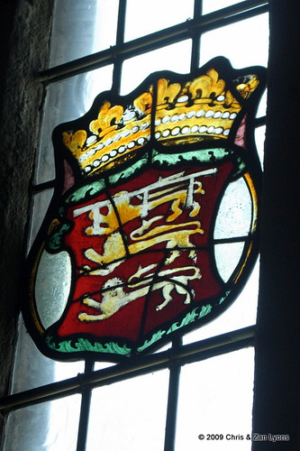 Bunratty Castle Stained Glass 5 | by Lyons, Tigers, and Bears...Oh My!