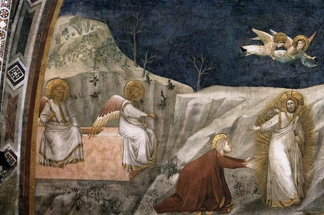 Giotto - Assisi, Basilica Inferiore, Cappella della Maddalena, Noli me tangere