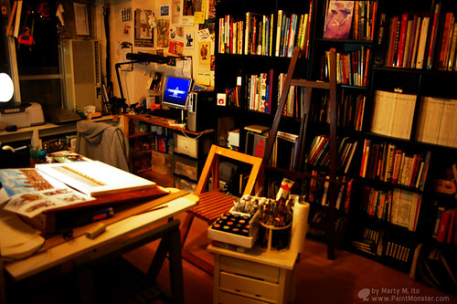 My room of My Studio (PaintMonster ArtStudio) | by Marty M. Ito