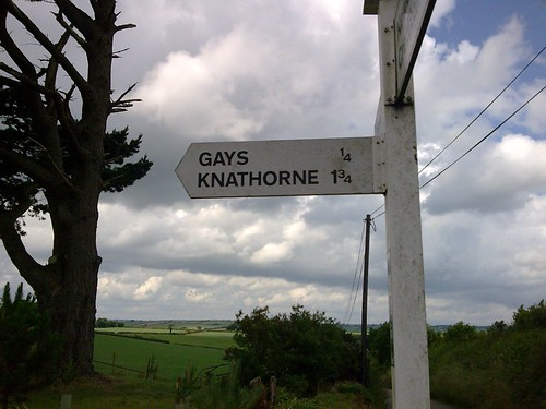Road Sign, Mid-Devon