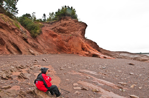 red novascotia aeolian fluvial triassic carrsbrook wegageologyexcursion wolfvilleformation janetcatchpole