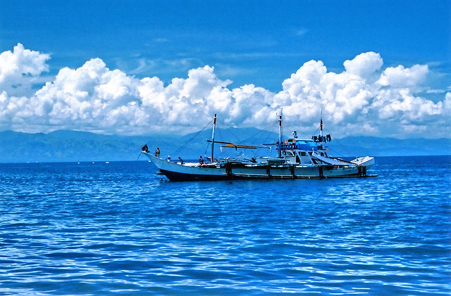 boat along Sarangani Bay