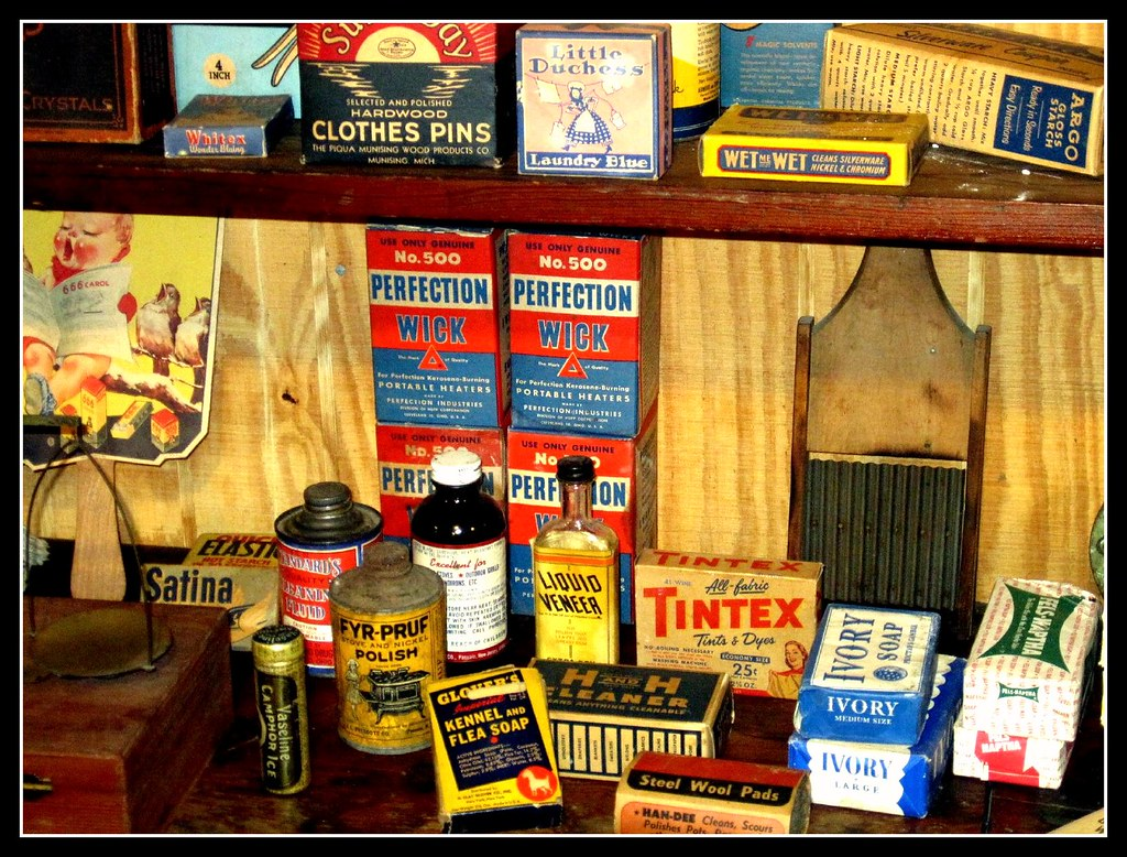 Old Time General Store Dry Goods And Sundries Great Exampl Flickr