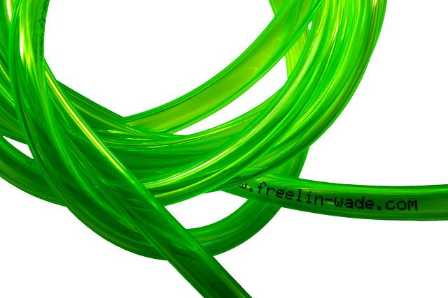 Transparent Neon Green Tubing