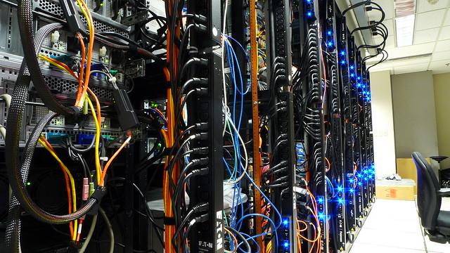 Server Room Powerstrips